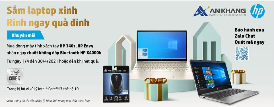 HP tặng X4000b