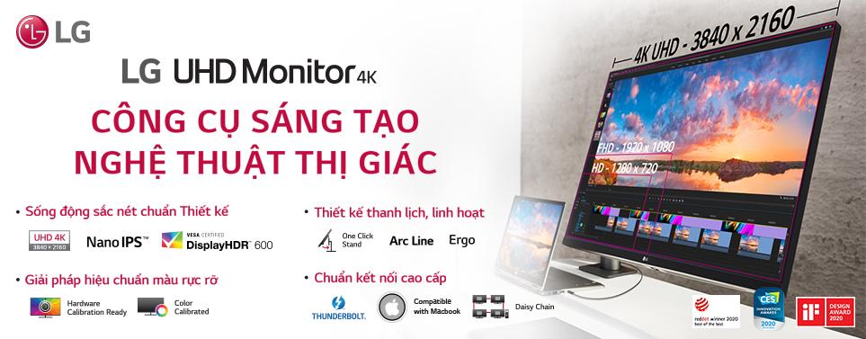 LG UHD Moniter-4k
