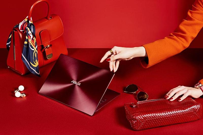 ASUS ZenBook S (UX391) ra mắt phiên bản Đỏ Burgundy phong cách thời thượng