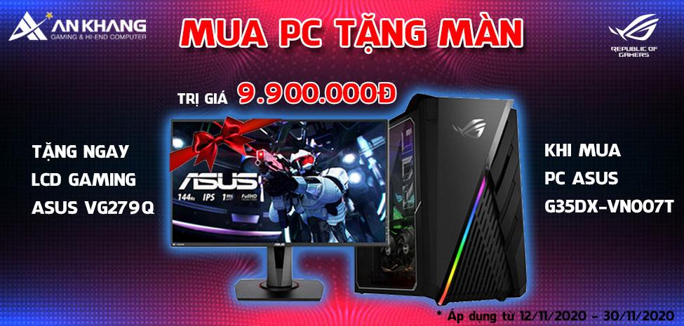 Mua PC Asus tặng LCD Gaming cực hot trị giá 9.900.000đ