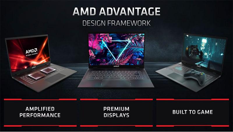 Laptop riêng của AMD: Laptop AMD Advantage