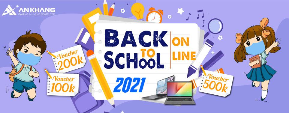 CTKM: Back To School 2021 Online cùng AKC