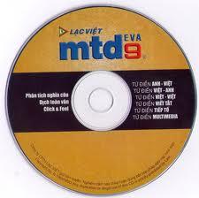 Phần mềm Lạc Việt Từ Điển mtd9 EVA