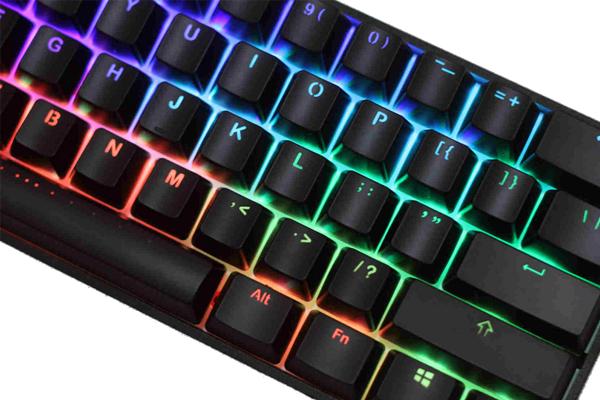 Bàn phím cơ Vortex Poker 3 Brown switch Led RGB
