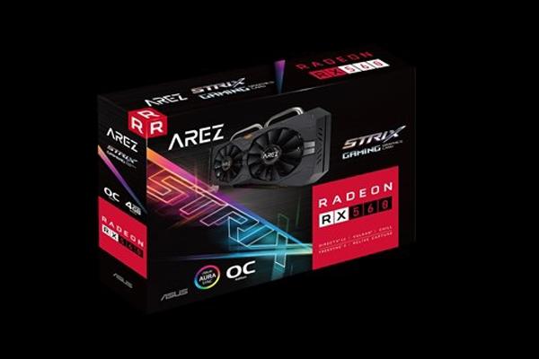 VGA ASUS AREZ-STRIX-RX560-O4G-GAMING