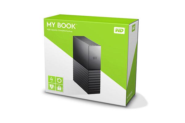 Ổ cứng di động WD My Book 4TB Multi (WDBBGB0040HBK-SESN)