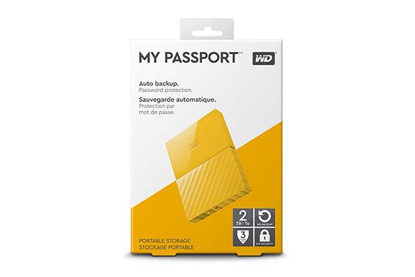 Ổ cứng di động WD My Passport 2TB (WDBS4B0020BYL-WESN)