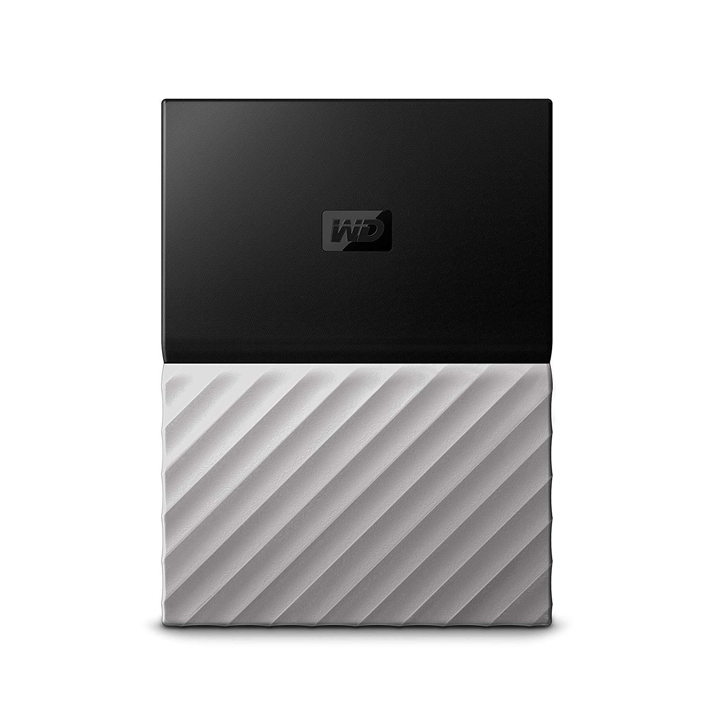 Ổ cứng di động WD My Passport Ultra 2TB Black grey (WDBTLG0020BGY-WESN)