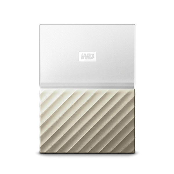 Ổ cứng di động WD My Passport Ultra 2TB WHITE GOLD WDBTLG0020BGD-WESN