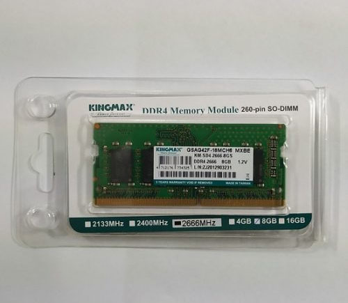 Ram Laptop Kingmax 8GB DDR4 2666MHz