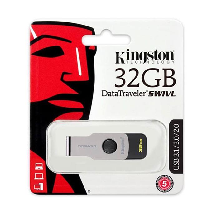 USB Kingston 32GB Data Traveler DT SWIVL USB 3.0