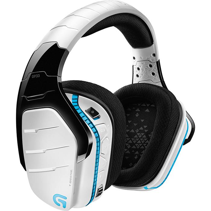 Tai nghe Logitech G933 Artemis Spectrum Wireless RGB 7.1 Surround Gaming