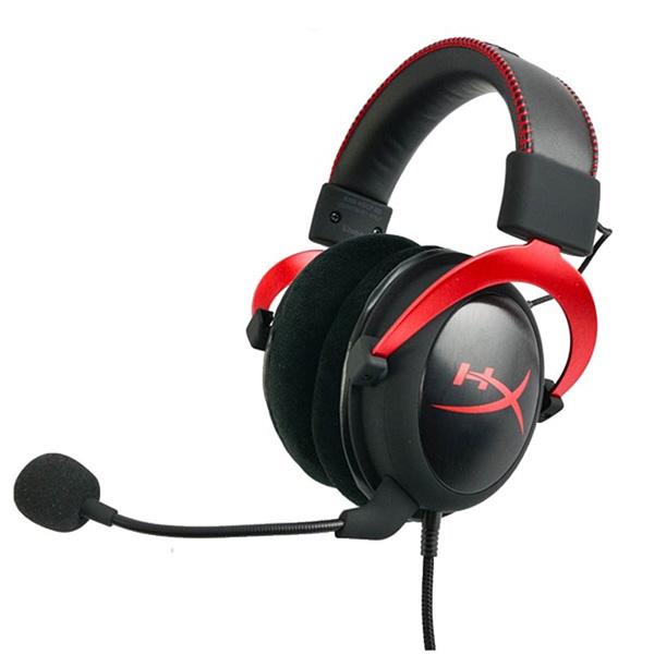 Tai nghe Kingston Gaming HyperX Cloud II Gun Metal- Red