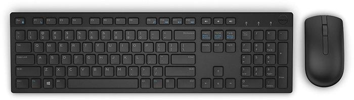 Bộ bàn phím+ chuột không dây Dell KM636 Black