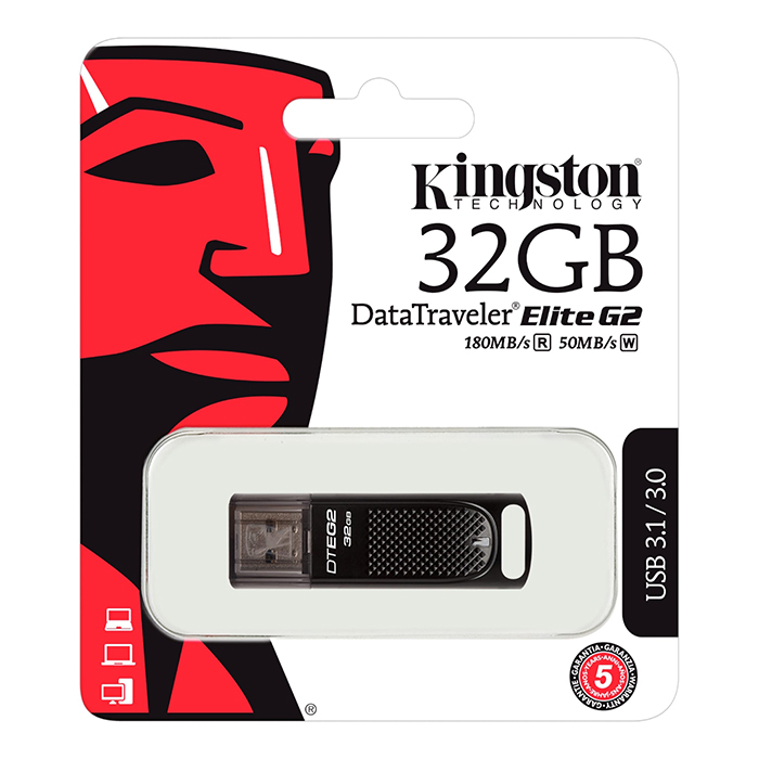 USB Kingston 32GB DataTraveler® Elite G2 DTEG2