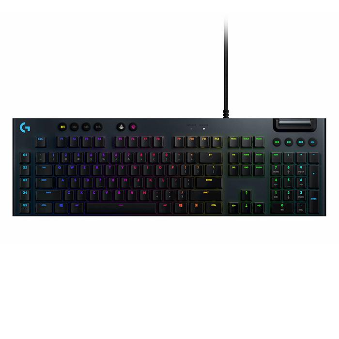 Bàn Phím Cơ Gaming Logitech G813 Lightsync RGB- Switch GL Tactile