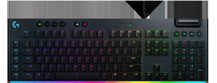 Bàn Phím Cơ Gaming Logitech G813 Lightsync RGB- Switch GL Linear