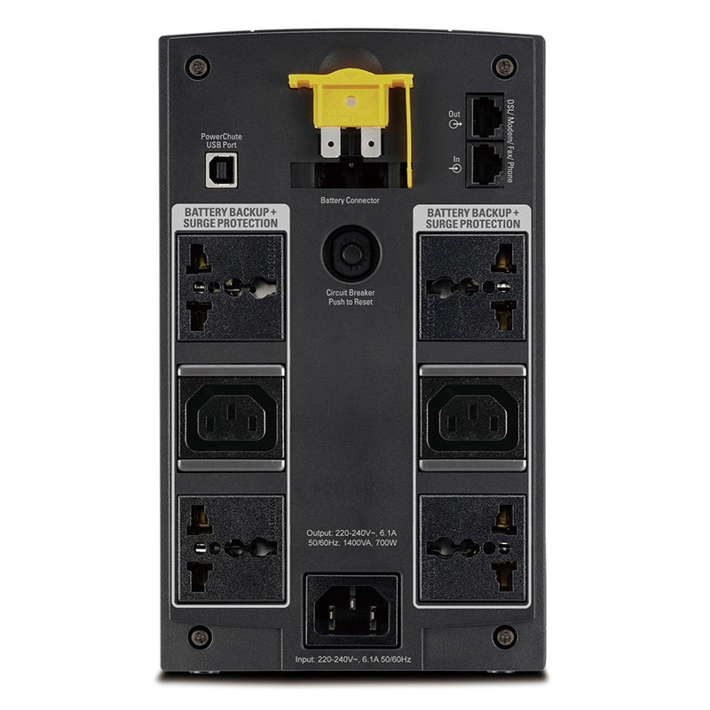 Bộ lưu điện Line Interactive UPS APC BX1400LI-MS
