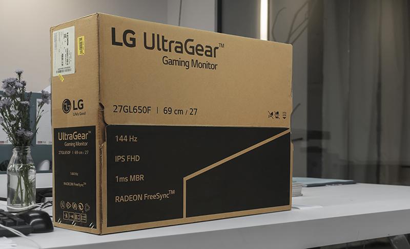 Màn hình LG 27GL650F-B 27inch Full HD 144Hz