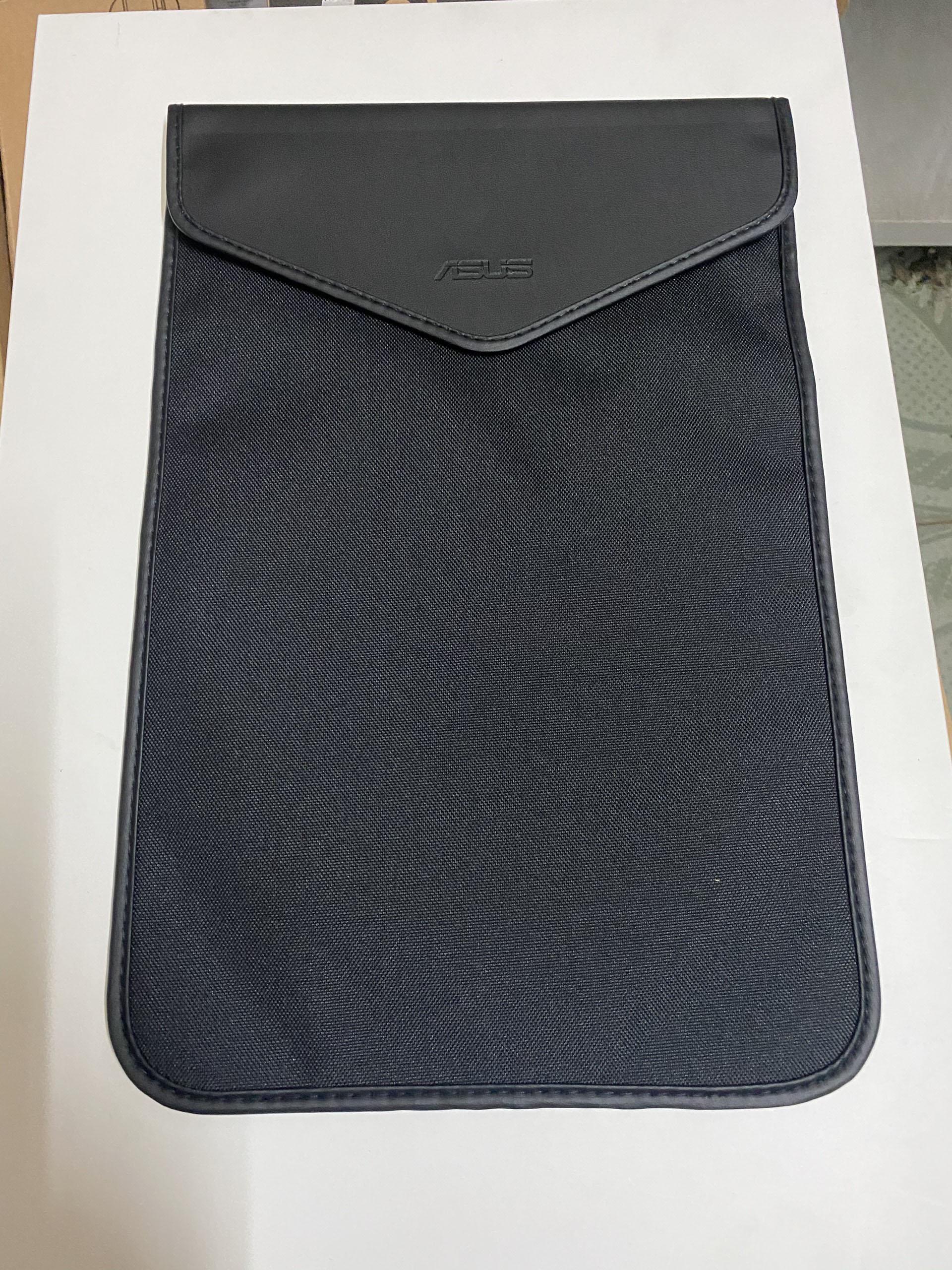Túi chống sốc vải/da màu đen (15181-00310000)