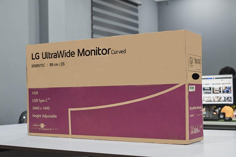 Màn hình Cong Game LG 35WN75C-B UltraWide QHD HDR VA