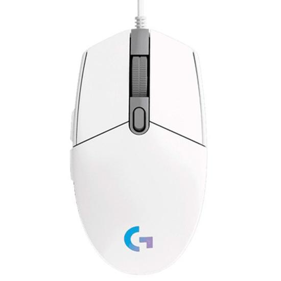 Chuột Gaming Logitech G102 Gen 2 Lightsync- Màu Trắng
