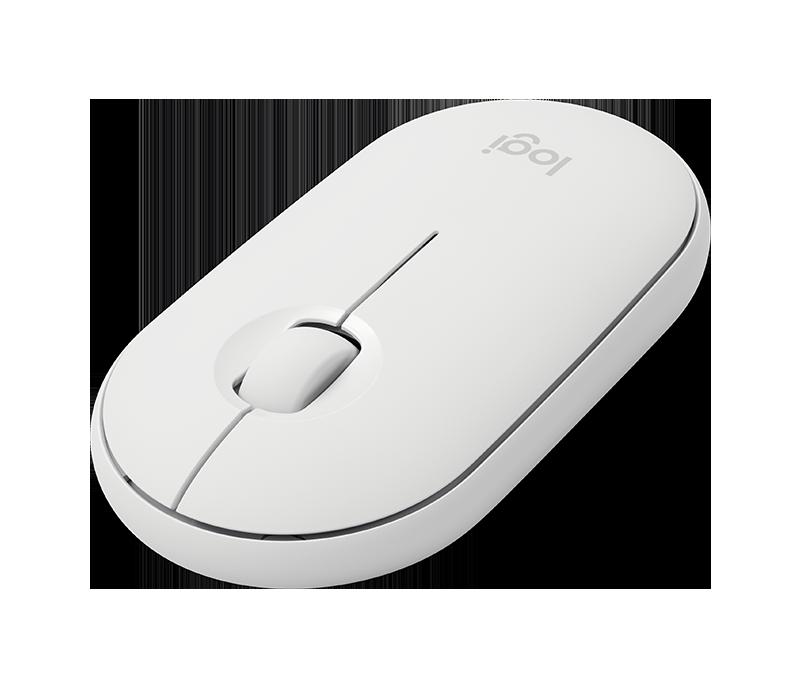 Chuột không dây Logitech Pebble M350 - White