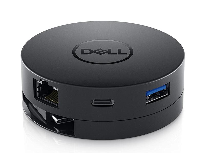 Thiết bị chuyển đổi tín hiệu Dell Kit - Dell DA300 USB-C Mobile Adapter - USB-C to HDMI/VGA/DP/Ethernet/USBC/USB-A - SNP