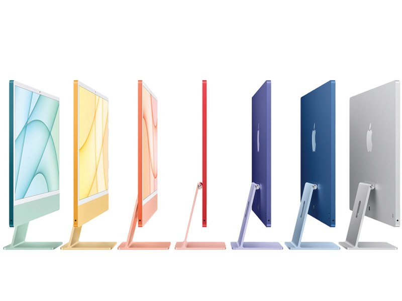 IMac 24inch Apple M1 Chip 8 Core CPU - 7 Core GPU 256GB - Blue MJV93SA/A