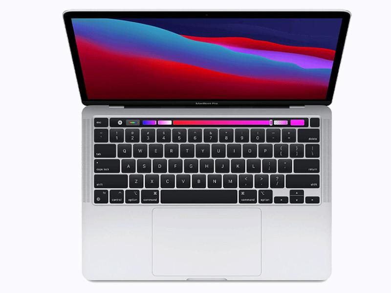 MacBook Pro 13 inch - Sliver - Apple M1 Chip - SSD 256GB - bản RAM 16GB