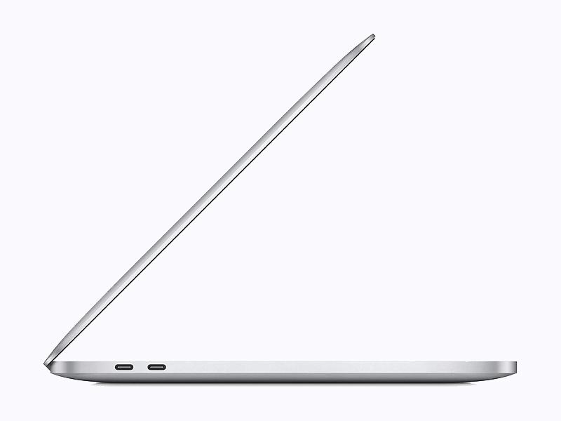 MacBook Pro 13 inch - Sliver - Apple M1 Chip - bản SSD 512GB
