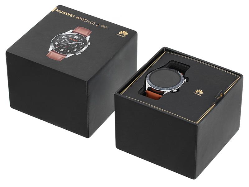 Đồng hồ thông minh HUAWEI GT2 DÂY DA (PEBBLE BROWN)