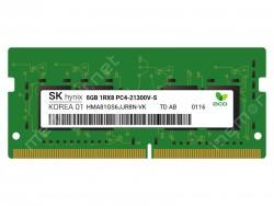 Ram laptop SK HYNIX 8GB 1RX8 DDR4 SO-DIMMPC4-21300 2666MHZ (HMA81GS6JJR8N-VK)(Korea)