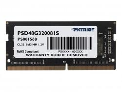 Ram Laptop Patriot 8GB DDR4 3200MHz PSD48G320081S