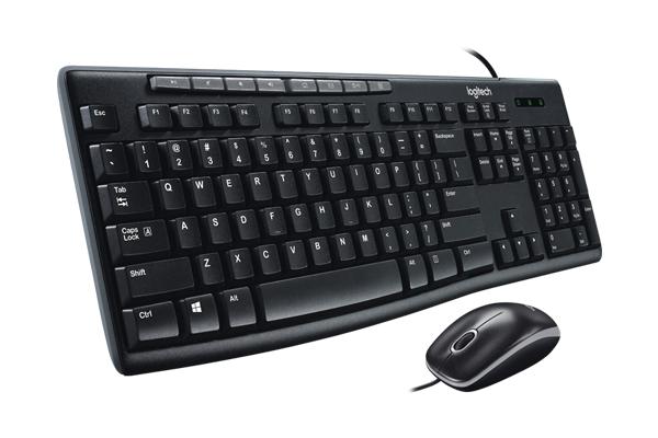 Bộ bàn phím - Chuột Logitech MK200