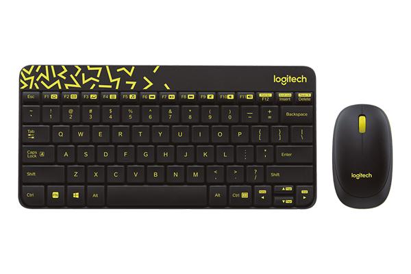 Bộ bàn phím - Chuột không dây Logitech MK240
