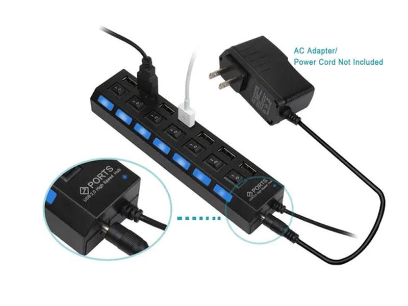 Bộ chia cổng Hub 1-7 USB 2.0