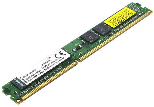 Ram PC Kingston 4GB DDR3L-1600Mhz LONG DIMM 1.35V - KVR16LN11/4